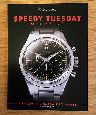 Limited OMEGA SPEEDY TUESDAY MAGAZINE SPEEDMASTER MAGAZIN FRATELLOWATCHES !