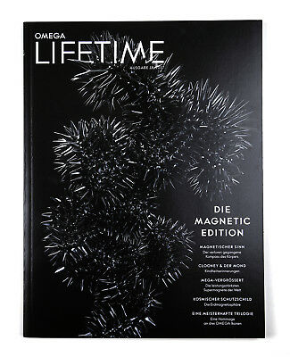 Omega Lifetime Magazin 18 Magnetic Edition Deutsch Top Clooney & Der Mond Kosmos