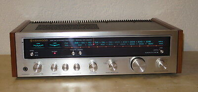 Vintage Kenwood Model Kr-4600 Am-Fm Stereo Tuner Amplifier
