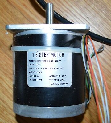 pacific scientific stepper motor nema 34