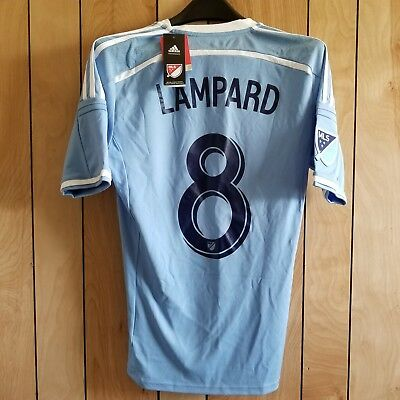 best service 996f9 6d2f6 Adidas New York City FC MLS Soccer Jersey LAMPARD Mens Size Small NYCFC