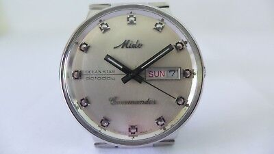 Classic Mido Automatic Commander Ocean Star Silver dial orig.Band Ref.: 8479