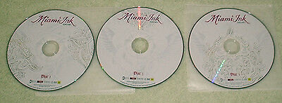 3 discs, MIAMI INK - COLLECTION 8
