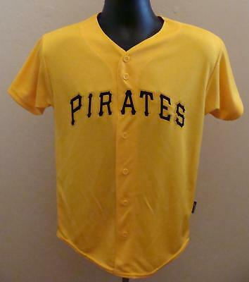low priced 80745 560b5 PITTSBURGH PIRATES MAJESTIC Cool Base Authentic Button Down Baseball Jersey  USA