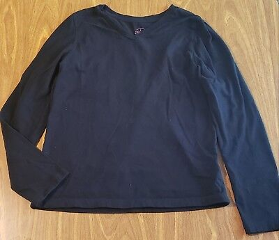 Girl Size 10-12 Faded Glory Long Sleeve Top