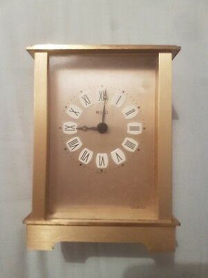 kiki Quartz Carriage Clock