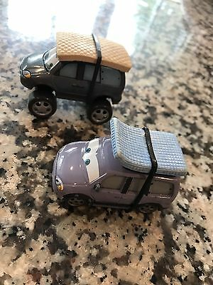 DISNEY PIXAR CARS Leroy Traffic And Snow Tires Version