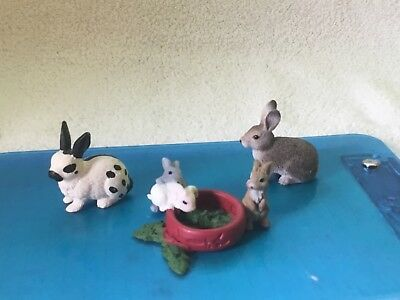 Schleich Rabbits (lot of 3)