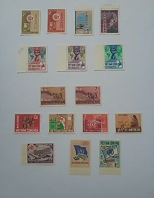 South Vietnam 1965 / 66 MNH stamps