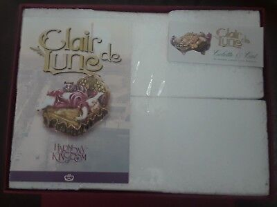 Harmony Kingdom Original Box Figurine Clair De Lune Colette Cat Nib