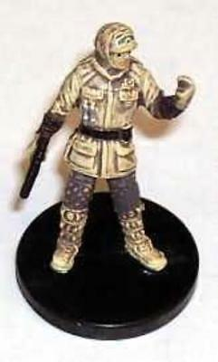 WOTC Star Wars Minis Force Unleashed Hoth Trooper Officer SW