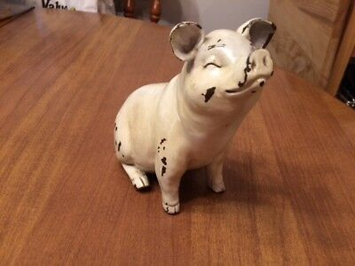 Rustic Country Pig Statue/Figurine - Dollar General Farmhouse - New