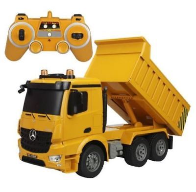 Remote Control Electronic RC Dump Truck Toy Full Function Engineering Vehicle