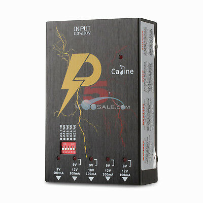 Caline P5 ISOLATED Power Supply Guitar Effects Pedal Outlets Power Supply 9V/12V