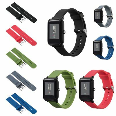Silicone Band Strap for Xiaomi Huami Amazfit Bip BIT PACE Lite Youth Watch