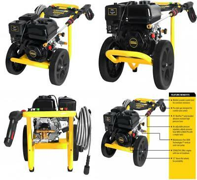 Gas Pressure Washer Fatmax Power Portable High Cleaner 2.5 GPM 3400 PSI 49-State