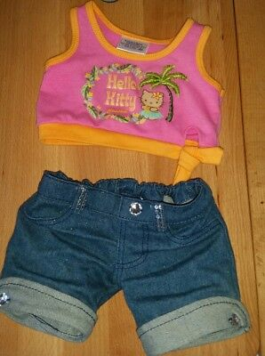 Build a Bear Clothes Clothing - Hello Kitty Top and Jeans