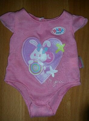 Authentic Baby Born Doll Clothing Romper
