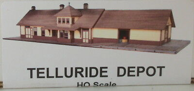 HOn3  HO CRAFTSMAN RAGGS TO RICHES RIO GRANDE SOUTHERN TELLURIDE DEPOT KIT NEW
