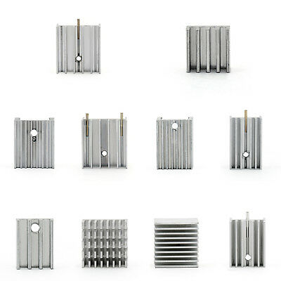 Small HeatSink Radiator For Power Transistor/MOSFET/IC TO-3/TO-126/TO-220  A1