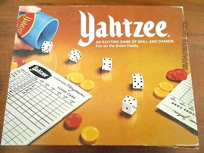 ~~Vintage Yahtzee Dice Game/board Game - John Sands - Complete - Gc~~