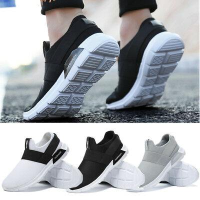 Sneakers Men Slip on Breathable Gym Trainers Sports Shoes Athletic Size 12 11 10
