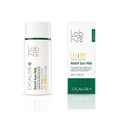[LABNO] Cicaloe Relif Sun Milk 50ml SPF50+ PA++++ For Sensitive Skin Suncream