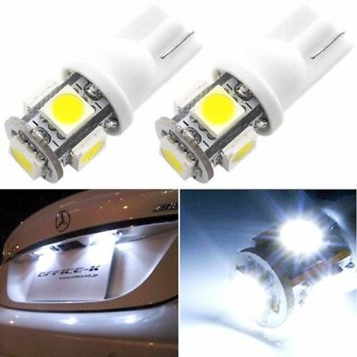 20X T10 5050 5SMD 194 168 LED White Car Side Wedge Tail Light Lamp Bulbs