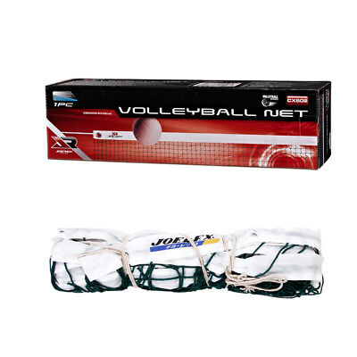 Beach Volleyball Net Replacement Standard Size Cotton Mesh Indoor/outdoor Sports