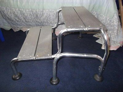 Lightweight Double Aluminium Caravan Step