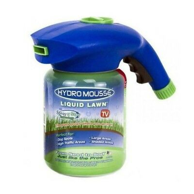 1X Hydro Mousse Household Seeding System Liquid Spray Seed Lawn Care Grass Shot
