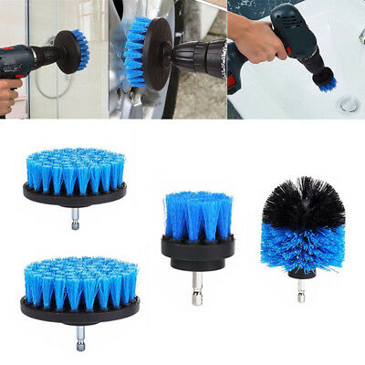 Drill Cleaning Brush Power Scrubber Stiff Scrub Clean Tool Tile Wash Attachment