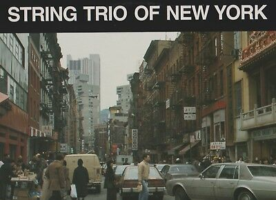STRING TRIO OF NEW YORK & JAY CLAYTON - Same titled - MINT ZUSTAND