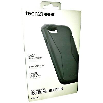 Tech21 iPhone 6S/6 Evo Tactical Extreme Tough Strong Case Cover & Holster Black