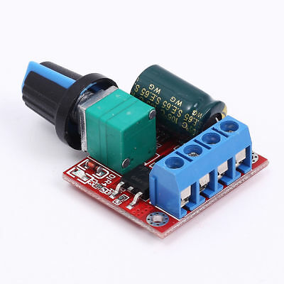 Mini DC 5A Motor PWM Speed Controller 3V-35V Speed Control Switch LED Dimmer EEE