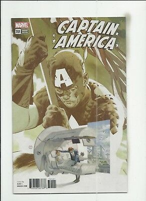 Captain America #701 Julian Totino Tedesco Variant Cover (VF/NM) condition