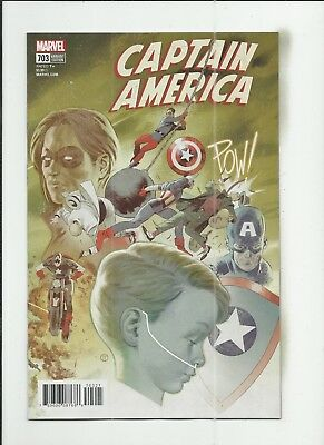 Captain America #703 Julian Totino Tedesco Variant Cover (VF+) condition
