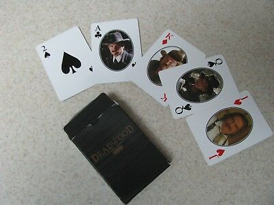 Deadwood Hbo 2005 Promotional Playing Cards