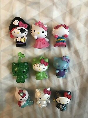 Sanrio Hello Kitty Costume Collection Mystery Bag 9 Figure Lot + Chase