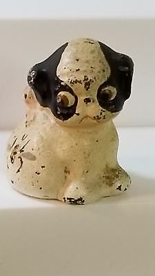 Rare Hubley cast iron bull terrier Puppo paperweight