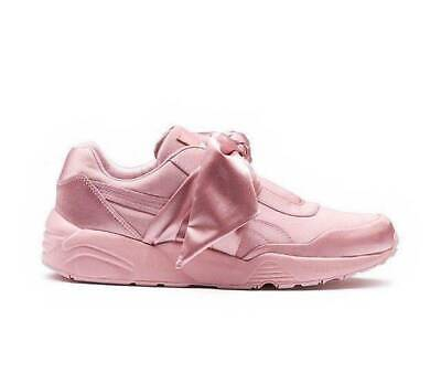 new styles 9c0e5 6d25b PUMA FENTY RIHANNA AMAZING Pink Satin Bow Sneakers US 7.5 8.5 OMG I LOVE  SHOES