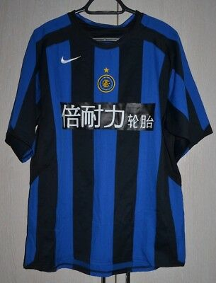 Inter Milan 2005/2006 Football Shirt Jersey Maglia Nike Special Chinese Sponsor