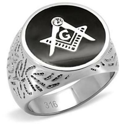 f3d679c1e021f MASONIC ONYX SIGNET Ring - 10k Yellow Gold Size 9.5-9.75 Blue Lodge ...
