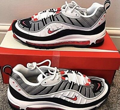 info for 39813 e28d7 NIKE AIR MAX 98 Solar Red