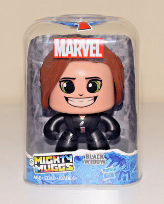 Black Widow Mighty Muggs Marvel Avengers Hasbro 3 Faces Action Figure #05 NEW
