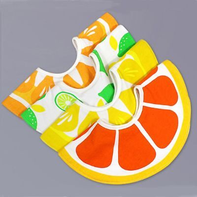 Feeding 360 Degrees Of Rotation Cute For Fruit Baby Saliva Towel Bibs