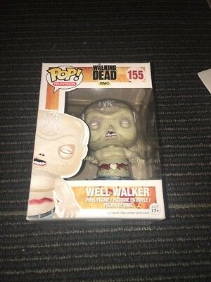 Funko Pop Tv Television The Walking Dead Twd Well Walker Zombie Vaulted Retired