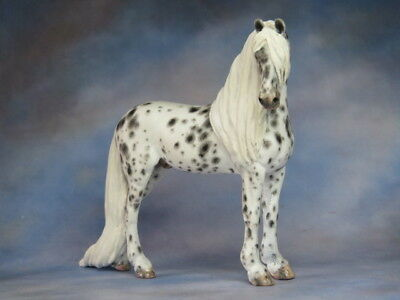 Custom CM Breyer SM Django to Friesian  cross x L. Elkjer***OOAK*