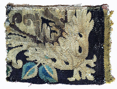 A Small Antique Tapestry Fragment