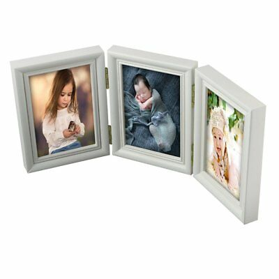 Photo Frame Newly Born Baby Foot/Hand Print Cast Set Christening Gift GT
